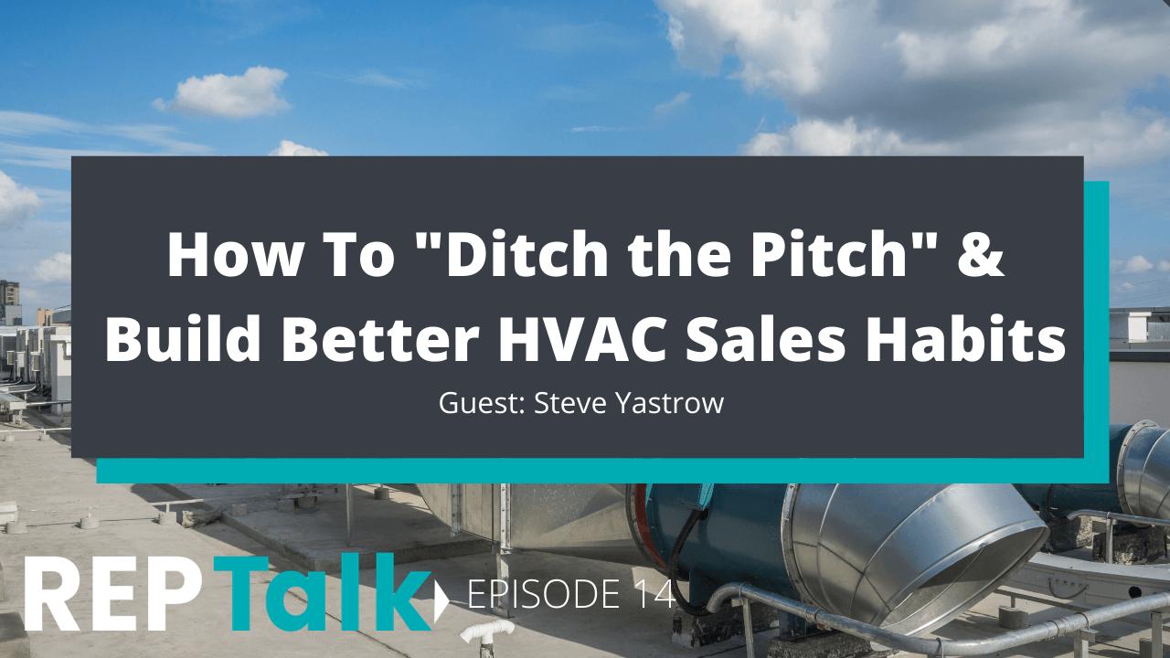 HVAC sales habits